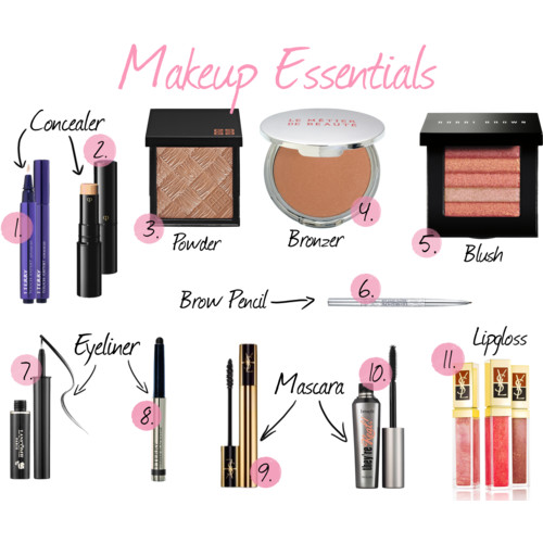 My Daily Makeup Essentials Glamour House