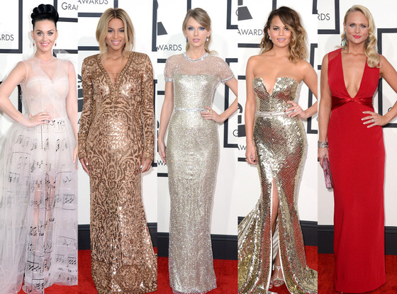 Grammy's Red Carpet 2014