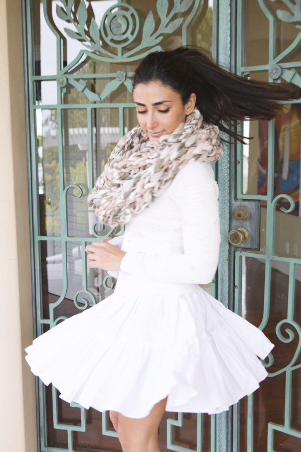 White, Frilly & Cozy