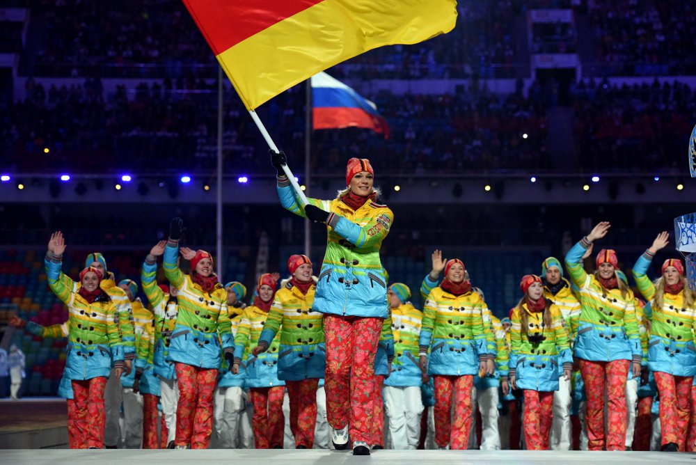 Opening Ceremony Fashion in Sochi