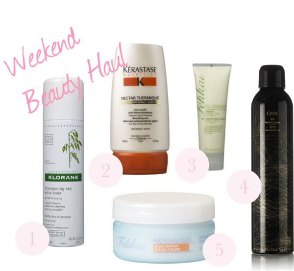 Weekend Beauty Haul — The Hair Edition!