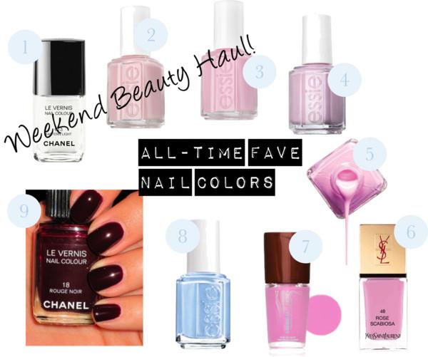 Weekend Beauty Haul — Fave Nail Polish Colors!