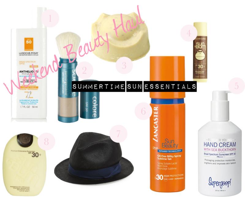 Weekend Beauty Haul: Summertime Sun Essentials!