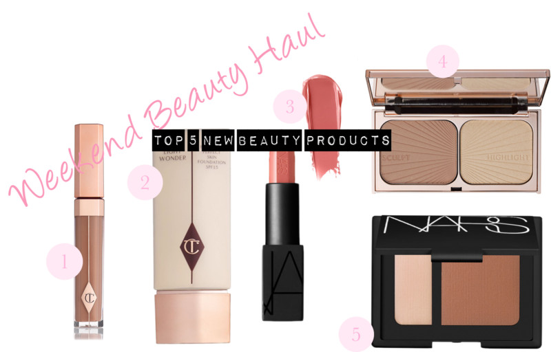 Weekend Beauty Haul: Top 5 NEW Makeup Products